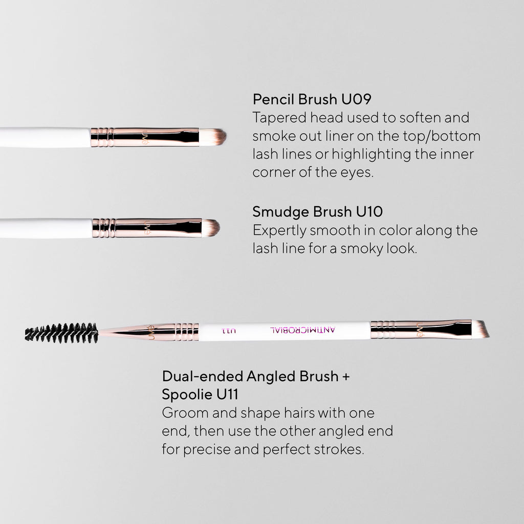 UVé Professional Makeup Brush Set (11)