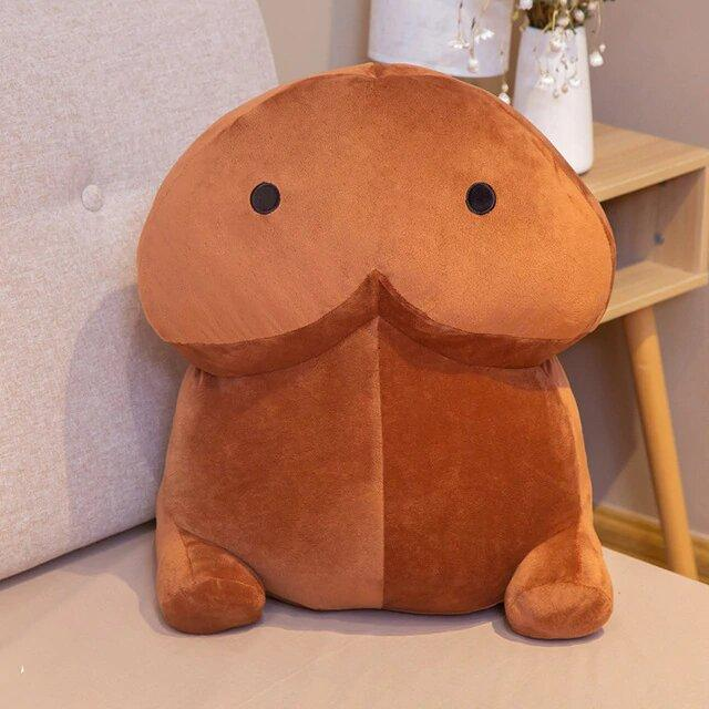 Plushies & Co ™ 40cm / Brown Chonky PeePee Plush