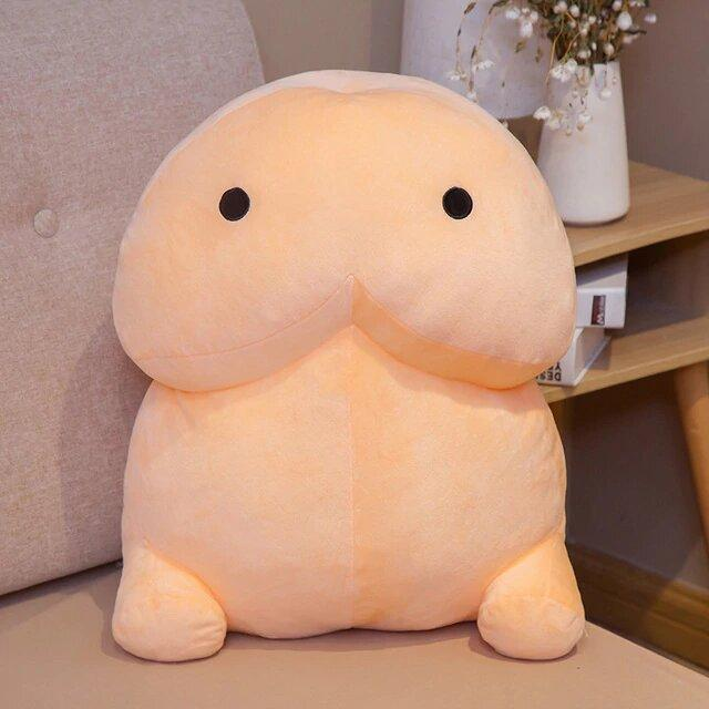 Plushies & Co ™ 40cm / White Chonky PeePee Plush
