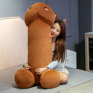 Plushies & Co ™ 80cm / Brown Chonky PeePee Plush