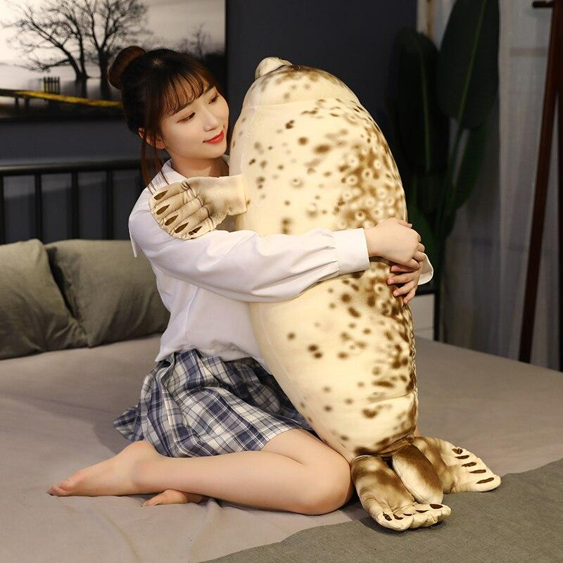 Plushies & Co ™ Burrito Seal Pillow