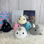 Plushies & Co ™ Reversible Narwhal Plush