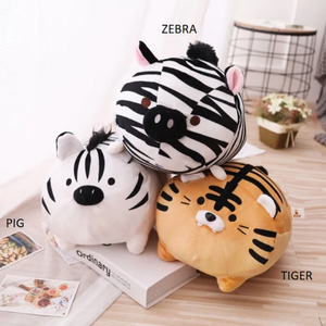 Plushies & co Tiger and ...Friends?
