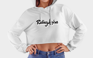 Sweat Crop Top Riding Louisa