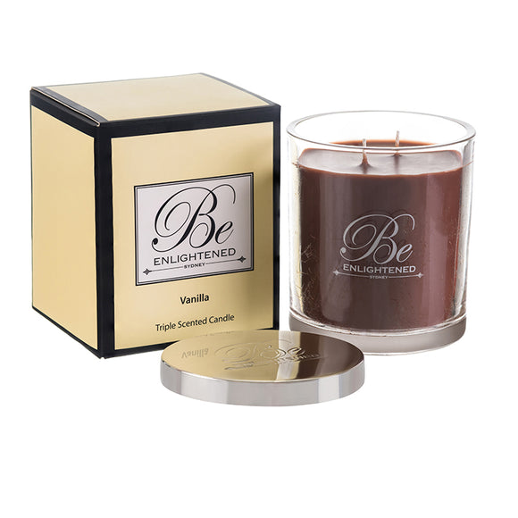 STANDARD TRIPLE SCENTED CANDLE VANILLA