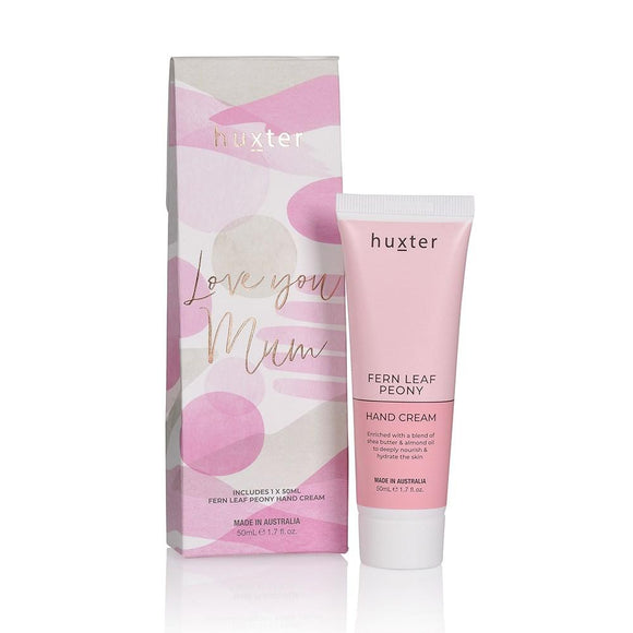 Mother's Day Hand Cream Gift Box - P/Pink - Fern Leaf Peony 50ml