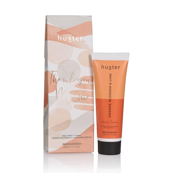 Mother's Day Hand Cream Gift Box - DUO Orange - Orange Blossom & Lime 50ml