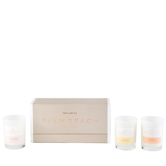 Trio Mini Candles Gift Pack