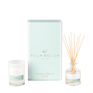 SEA SALT MINI CANDLE & DIFFUSER GIFT PACK