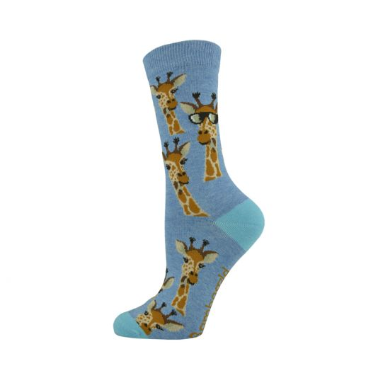 WOMENS GIRAFFE SOCK