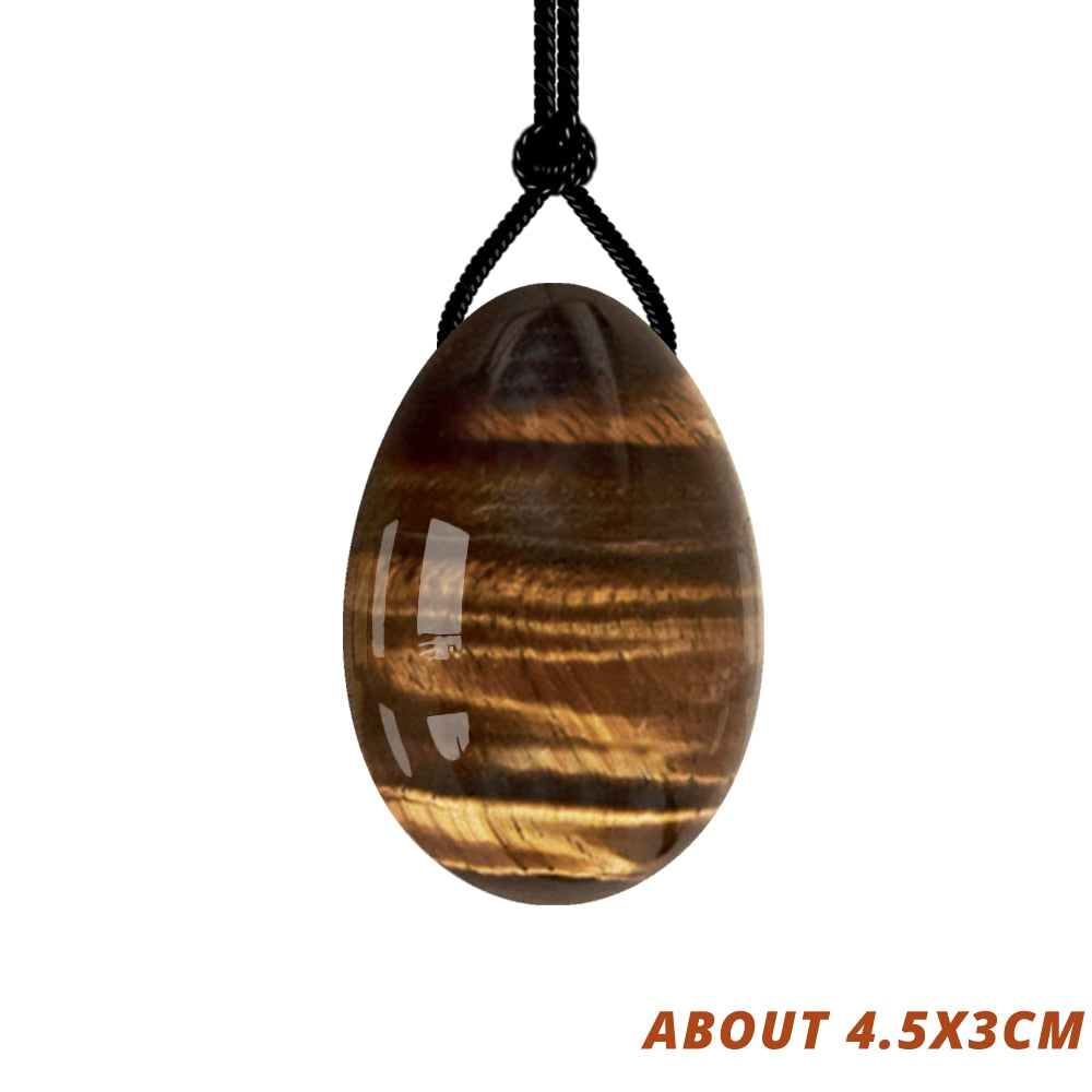 Natural Tiger Eye Yoni Egg