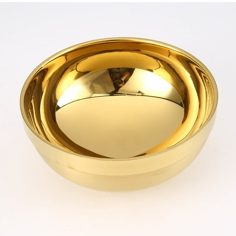 Golden Heat Resistant Alter Bowl