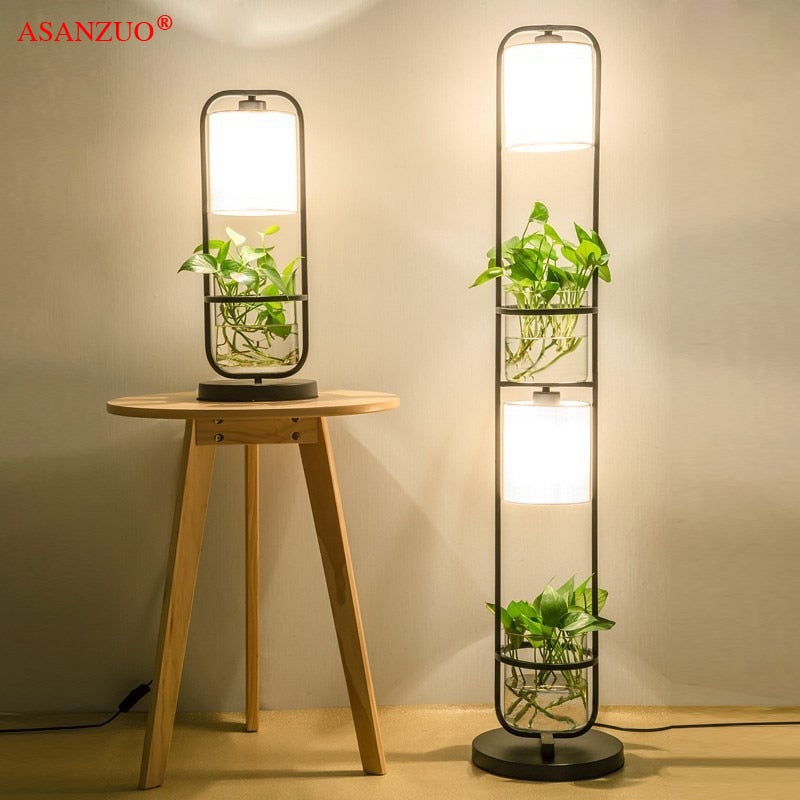 Hydroponic Decoration Table Lamp
