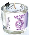 Crown Chakra Bliss Candle (Sahaswara)