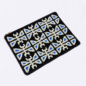 Open image in slideshow, BEADED POUCH