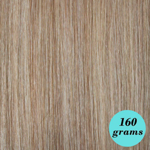 "#18/22N Natural Blonde 20"" Clip In Hair Extensions [HIGHLIGHT EDITION]"