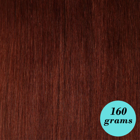 "#33 Dark Auburn 20"" Clip In Extensions"
