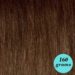 "#4 Milk Chocolate 20"" Clip In Extensions"