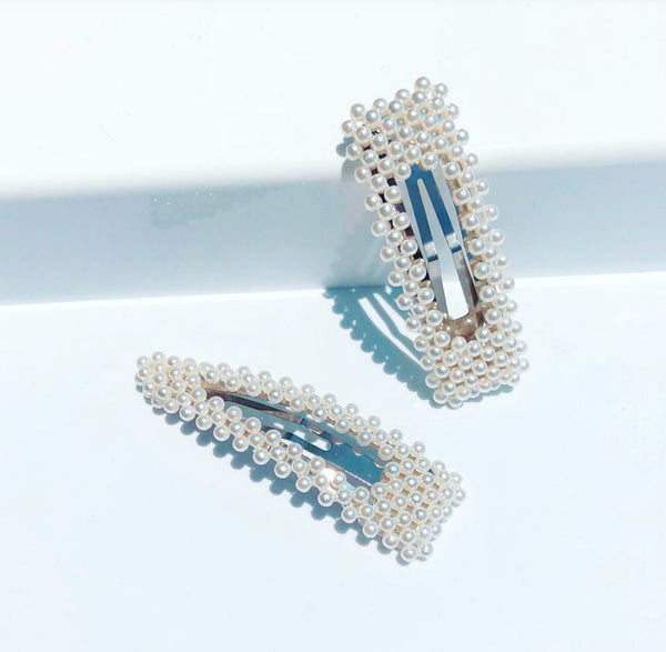 Pearl Clips - Set of 2