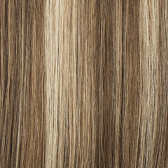"#60/6/4 Dark Blondish Brown 24"" Clip In Hair Extensions [Highlight Edition]"