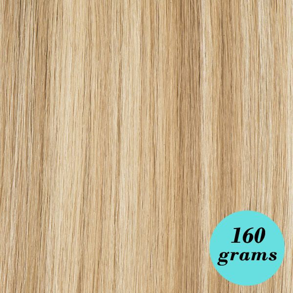 Human hair extensions remy clip in hair leyla milani hair mixed blonde 20 clip in extensions highlight pmusecretfo Gallery