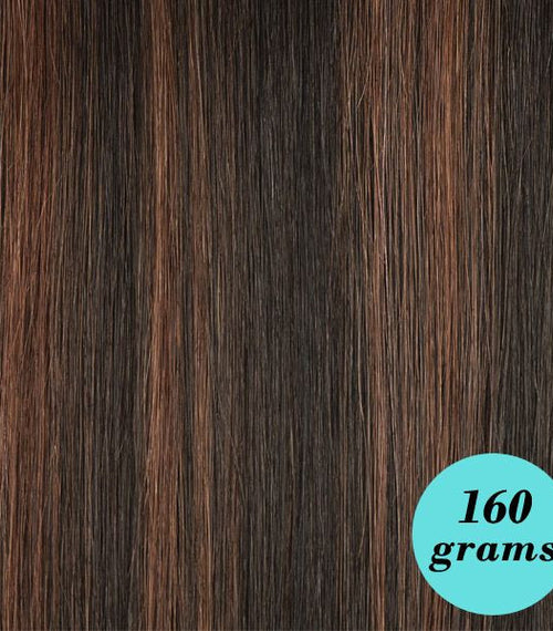 "#33/2/1B Reddish Brown 20"" Clip In Extensions [Highlight Edition]"