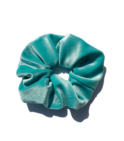 LIMITED EDITION: VELVET BLUE SCRUNCHIE