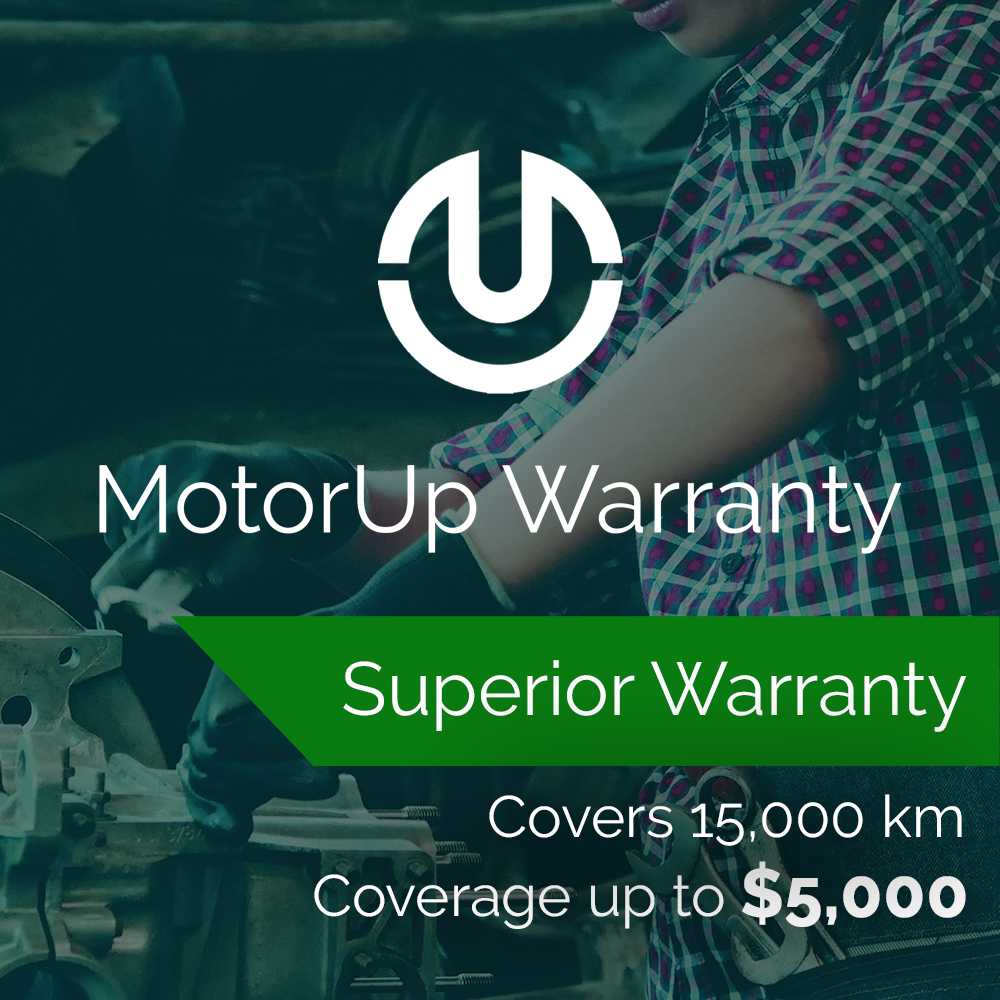 Superior Warranty   (1 YEAR or 2 YEARS)