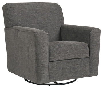 Alcona Swivel Glider Accent Chair - Ashley Furniture