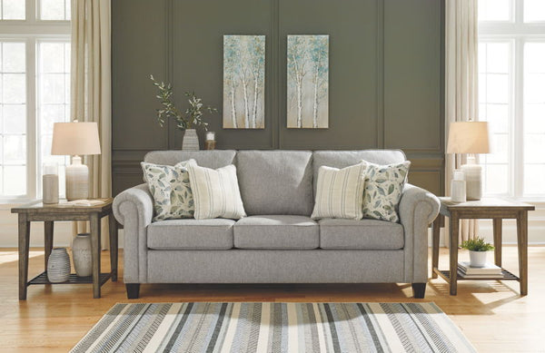 Alandari Sofa Love Accent Chair by Ashley - Gray