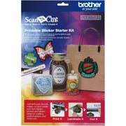 Kit de Estampas CAPSKIT1 Brother, 100 plantillas, incluye hojas de laminado, compatible con ScanNCut SDX