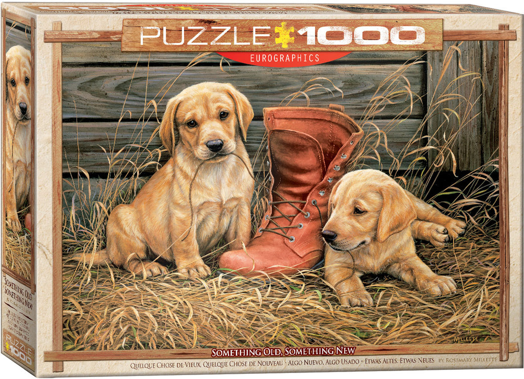 Puzzle - 1000pc (Eurographics) - Something Old Something New
