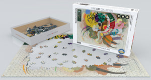Puzzle - 1000pc (Eurographics) - Dominant Curve