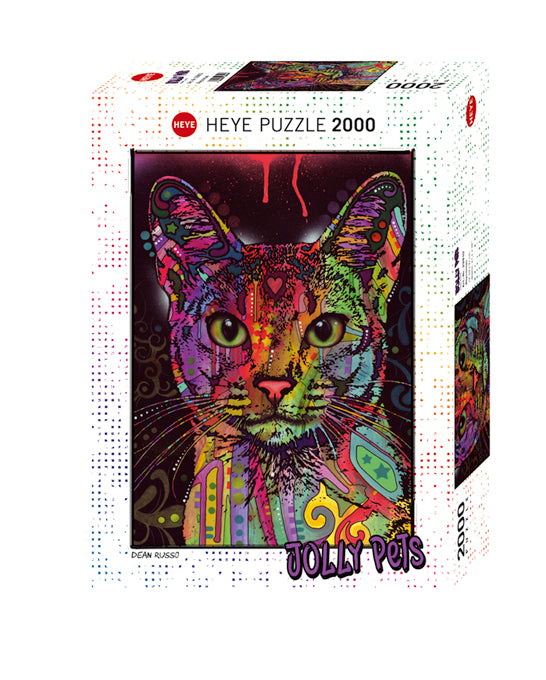 Puzzle - 2000 pc (Heye) - Abyssinian (Coming June)