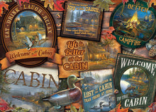 Load image into Gallery viewer, Puzzle - 1000 pc (Cobble Hill) - Cabin Signs