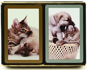 Playing Cards - Cat/Dog 2-pack Premium