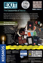 Load image into Gallery viewer, EXIT: Catacombs of Horror (2-part adventure in 1 box)