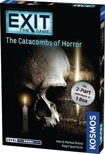 EXIT: Catacombs of Horror (2-part adventure in 1 box)