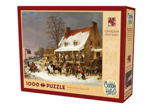 Puzzle - 1000 pc (Cobble Hill) - Breaking Up a Country Ball