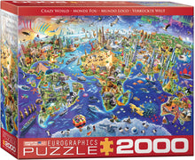 Load image into Gallery viewer, Puzzle - 2000pc (Eurographics) - Crazy World