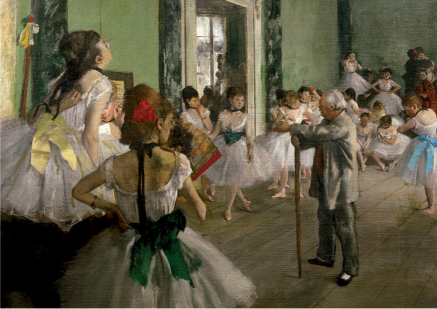 Puzzle - 1000 pc (D-Toys) - The Dancing Class (Degas)
