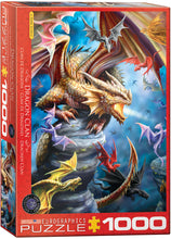 Load image into Gallery viewer, Puzzle - 1000pc (Eurographics) - Dragon Clan by Anne Stokes