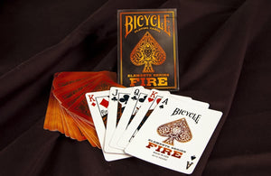 Playing Cards - Fire Element (Bicycle Brand)