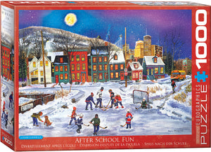 Puzzle - 1000pc (Eurographics) - After School Fun
