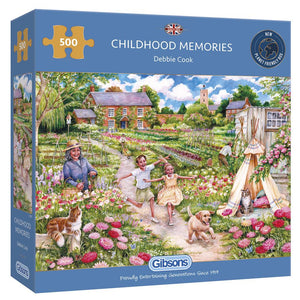 Puzzle - 500 pc (Gibsons) - Childhood Memories   (Coming June)