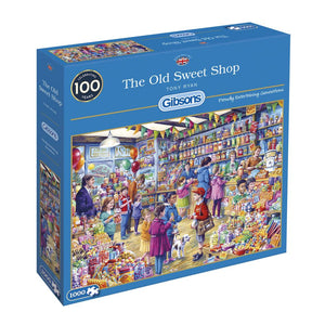 Puzzle - 1000pc (Gibsons) - The Old Sweet Shop