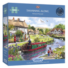 Load image into Gallery viewer, Puzzle - 1000pc (Gibsons) - Swanning Along