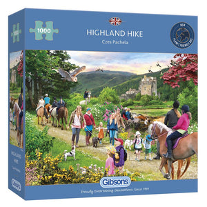 Puzzle - 1000pc (Gibsons) - Highland Hike
