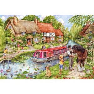 Puzzle - 500 pc (Gibsons) - Drifting Downstream   (Coming June)