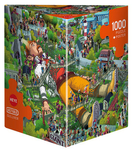 Puzzle - 1000 pc (Heye - Triangle box) - Gulliver  (Coming June)